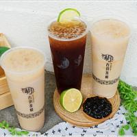 台中市美食 餐廳 飲料、甜品 飲料專賣店 古玥茶棧 忠孝店 照片