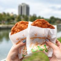 高雄市美食 攤販 台式小吃 媽祖港橋雞蛋酥 照片