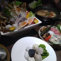 台中市美食 餐廳 火鍋 黑鍋港式海鮮鍋物 照片