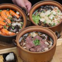 台中市美食 餐廳 中式料理 台菜 粥潮。精緻粥品 照片