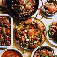 台中吃到飽控再衝一波!台中林酒店森林百匯「感蟹祭」強勢登場,10/31前四人同行一人免費。
