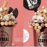 五迷錯過這次,包準你會痛不欲生!「StayReal Café」10周年超豪華珍奶限量登場,買就送絕版品限定紀念鋼杯。