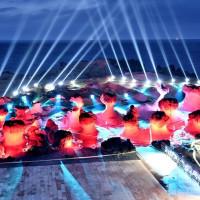 台灣人必看,此生不容錯過!絕美燈光秀「野柳時光 夜訪女王」04/19強勢登場,再加碼「女王音樂會」讓你享受最浪漫的野柳夜間景緻。