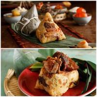 必吃寶島北部粽!台北君悅酒店搶攻端午商機,推出「放粽味覺饗宴」,要用經典、奢華、和風征服老饕挑剔的嘴。