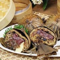 這一顆「八寶和牛爆漿粽」很驚人!台中金典端午節推出「金粽系列」禮盒,要用創新升級版粽子搶攻必買清單。