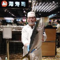 壽司控先記在小本本!Hi Sushi海壽司強勢推出「加1元多1貫」限定優惠,再加碼「現場開魚秀」免費試吃。