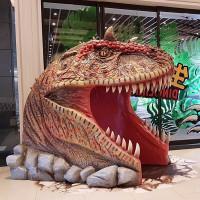 超逼真恐龍免費拍!CityLink大型恐龍裝置「Dinolink2.0」強勢洗版中,再加碼「恐龍氣墊樂園」吸引大小朋友玩到嗨。