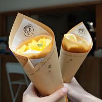 IG爆紅日式可麗餅!小清新風格「錐子日式可麗餅」插旗永康街商圈,堪稱最道地日式可麗餅搶攻甜點控的心。