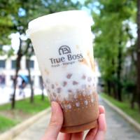 小芋圓、芋頭塊塞滿滿!讓芋頭控手刀衝的醋頭家「芋泥芋香」新上市,台北有松菸誠品喝的到。