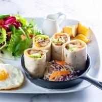 文青一定要衝蔦屋早午餐!蔦屋松山店「WIRED TOKYO」獨家推出全新早午餐菜單,再加碼晚餐時段日本酒無限喝到飽。