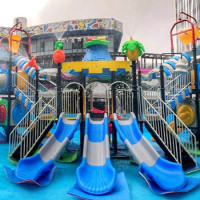 快帶小朋友放電!超大水城堡樂園「Dali Art親水潮樂園」快閃台中,泡泡派對、夏日市集讓大小朋友都玩嗨。