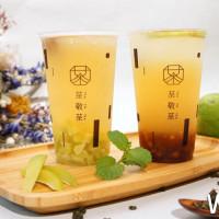 就算沒有談戀愛還是可以體會一下「愛青」的味道!「茶敬茶」推出夏季限定新品,在創意茶飲中品嘗愛情的滋味吧。