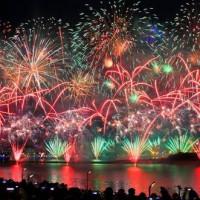台北市休閒旅遊 景點 海邊港口 2013大稻埕煙火 照片
