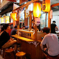 台中市美食 攤販 台式小吃 不知名拉麵 照片