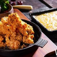 挑戰最高CP值韓式料理!小菜吃到飽豆腐鍋「涓豆腐」首推新品「起司瀑布香酥雞」,搶攻起司控的心。