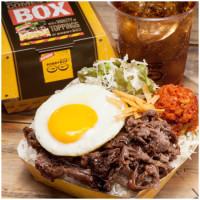 板橋上班族午餐再也不用煩惱了!IG超夯韓式便當「BobbyBox」插旗板橋環球,經典韓式烤肉、炸雞通通有。