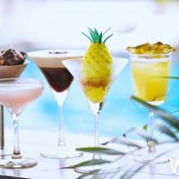 時尚控一定不能錯過!W飯店強勢推出聯名下午茶,與知名職人冰淇淋DOUBLE V聯手推出「VV FROZEN SUNSHINE陽光雪糕城」下午茶。
