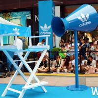 再掀IG打卡新風潮!adidas強勢攻佔信義區,IG網紅、網美、網帥最夯潮流打卡地標。