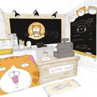 超夯LINE貼圖白爛貓快閃華山!堪稱史上最萌超商「白爛貓87超商期間限定店」免費入場,獨家限定白爛貓造型甜點IG必拍。