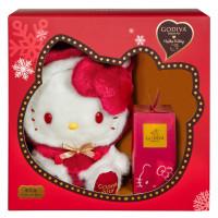 Kitty迷要瘋了!GODIVA強勢推出限量Hello Kitty巧克力禮盒,超萌Kitty保證讓你聖誕節脫單。