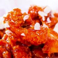 高雄市美食 餐廳 異國料理 韓式料理 七日七日炸雞(高雄文學店) 照片