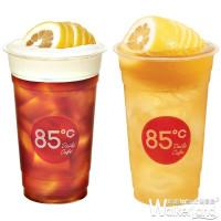 檸檬控喝起來!堪稱85˚C最夯的「一顆檸檬」系列強勢回歸,再加碼「第二杯半價」優惠。