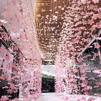 時尚IG網美一定要拍!微風南山atré全新必拍「遇見知櫻」,櫻花隧道、Greendays by Fujin Tree搶攻時尚IG熱搜榜。