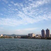 桃園市休閒旅遊 景點 海邊港口 桃園大圳一之十六景觀埤塘 照片