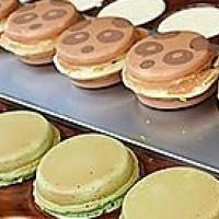 彰化縣美食 攤販 台式小吃 紅豆餅叔叔 照片
