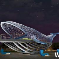 台南這樣拍!挑戰「地景藝術」最美稱號,台南市政府攜手在地藝術家楊士毅,打造台南新地標「大魚的祝福」,再加碼遊船半價優惠。