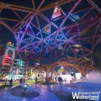 就算拍一百零一張都不滿足!IG必拍超夢幻「星空廣場」2/24免費音樂會,讓網美邊打卡邊享受。