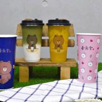 萌到無法自拔!茶湯會首度聯名Line Friends推出聯名環保杯,集點再送你限量公仔。