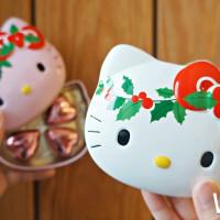 甜點控吃起來!全家推出聖誕限定造型甜點,限量「聖誕KITTY巧克力鐵盒」必收集。
