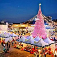 最讓人期待的必拍聖誕樹!桃園華泰名品城聖誕村11/13強勢登場,18米「奇幻聖誕樹」將搶攻網美、網帥IG版面。