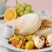 鬆餅控久等了!堪稱日本福岡第一鬆餅「Café Del SOL」預計10月正式登台,開幕再送你吃「Fuwa  Fuwa單人鬆餅」。