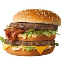 培根大麥克強勢登場!麥當勞霸主「大麥克」再升級,推出全新 「培根大麥克」搶攻漢堡口袋名單,再加碼滿99元送蛋捲冰淇淋。