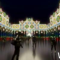 不用飛日本打卡了!日本網美每年必拍絕美系「Luminarie光雕裝置藝術展」免費快閃登台,超過二十萬顆LED搶攻網美IG牆。
