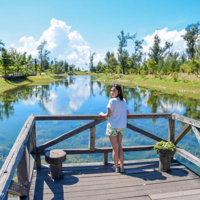 《台東台東市》台東森林公園 用單車漫遊歐洲風情的琵琶湖畔