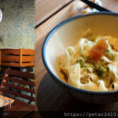 【基隆】下麵|正濱漁港美食推薦,隱藏版美味麵攤,用一碗飛魚卵乾麵跟house wine開啟味蕾