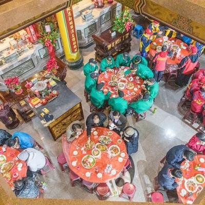 【馬祖北竿-擺瞑文化祭系列之二】國家重要民俗-北竿擺暝文化.年十四重頭戲「食福宴」