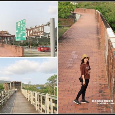 屏東。恆春古城|宜古宜今漂浮在校園內的城牆|墾丁旅遊新亮點