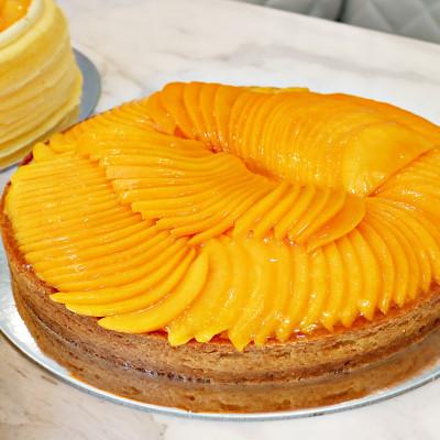 Lady M全球獨家口味!Lady M夏季新品6/1搶先開賣,要讓「芒果千層蛋糕」融化甜點控的心。