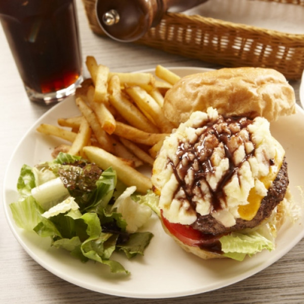 台北市 美食 餐廳 異國料理 法式料理 Burgery Café