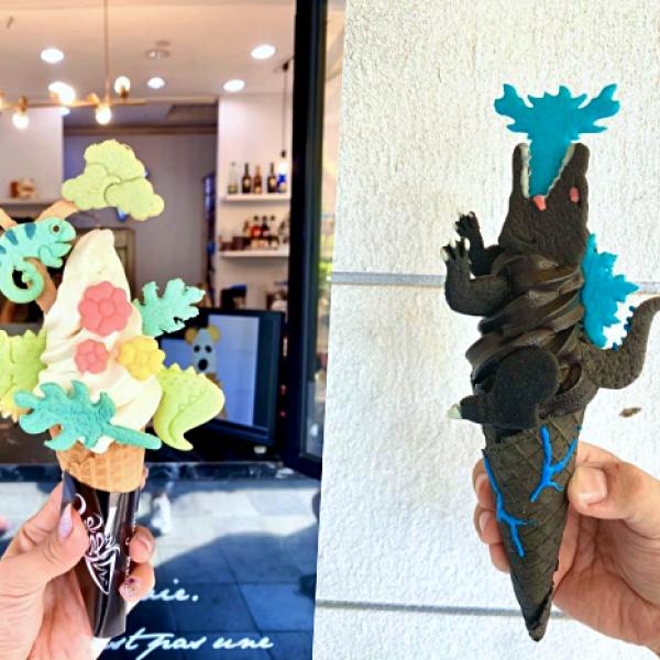台南市 餐飲 飲料‧甜點 冰店 CornerCone酷礦美式手作霜淇淋-台南淺草店