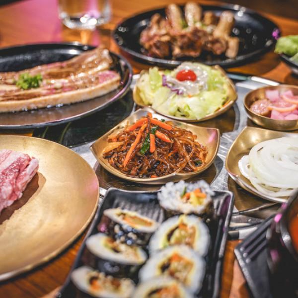 台北市 餐飲 燒烤‧鐵板燒 燒肉燒烤 MEAT LOVE橡木炭火韓國烤肉-美麗華店