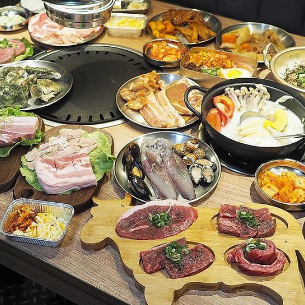高雄市 餐飲 吃到飽 虎樂-日韓精肉海鮮火烤吃到飽-高雄大魯閣草衙道店