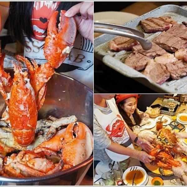 桃園市 餐飲 多國料理 多國料理 紅唇蟹 KISS CRAB 美式手抓海鮮