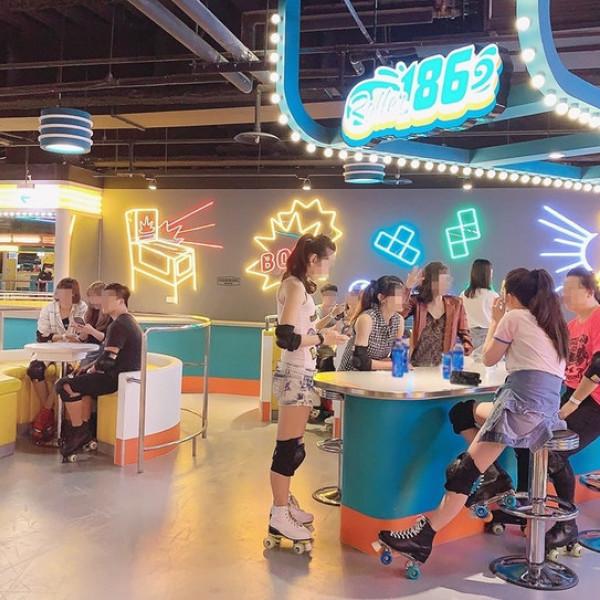 台中市 觀光 休閒娛樂場所 Roller186滑輪場