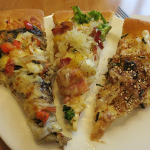 台北市 美食 餐廳 速食 披薩速食店 必勝客 (敦化店)
