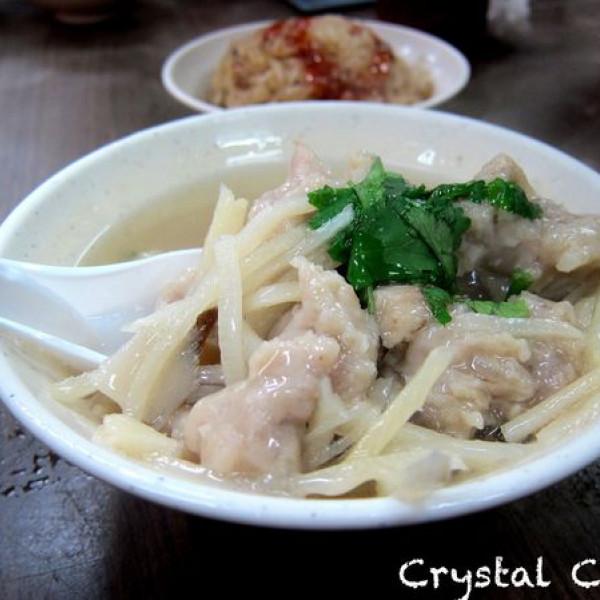 台北市 美食 攤販 麵線 東發號